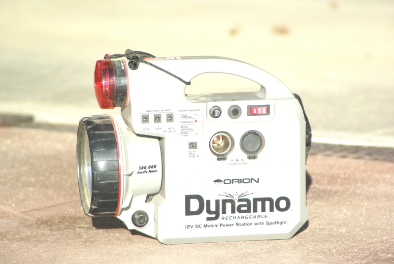 Orion Dynamo: Portable Power Packaged Perfectly
