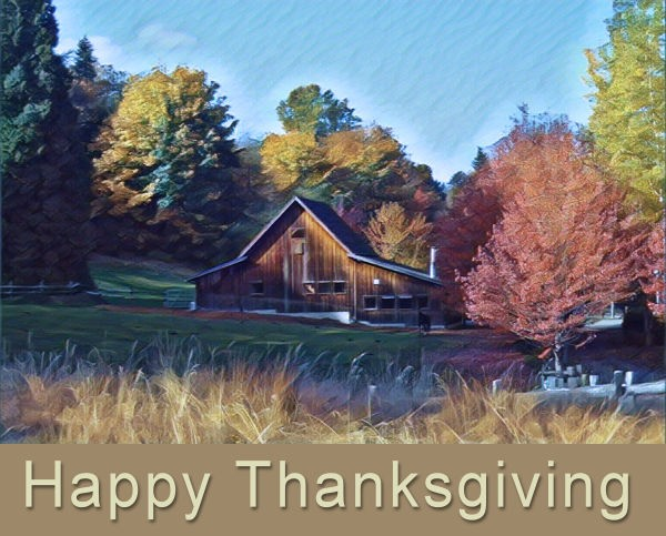 Thanksgiving wishes from the crew at ATWB