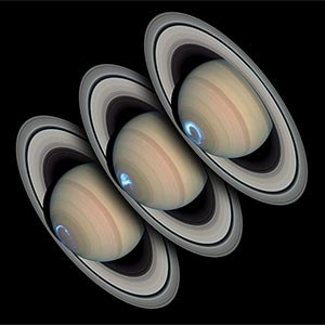 Saturn's Auroras Defy Scientists' Expectations