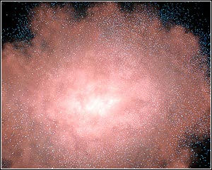Spitzer Space Telescope Exposes Dusty Galactic Hideouts