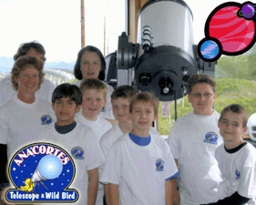 Anacortes Telescope Wins the National Meade Dealer Astronomy Day Outreach Contest!