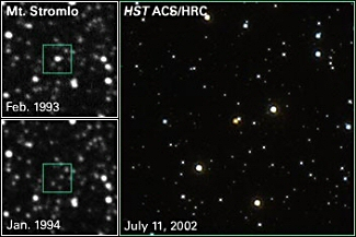 Astronomers Measure Mass of a Single Star