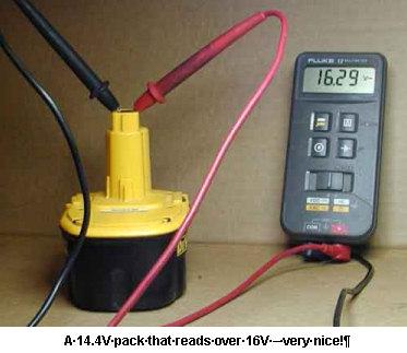 rebuilding nicd rechargable battery packs astromart