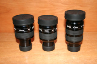 William Optics UWAN Eyepieces – 4mm, 7mm, 16mm