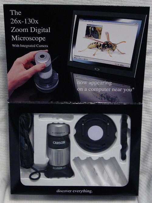 Carson ePix MM-640 Digital Microscope