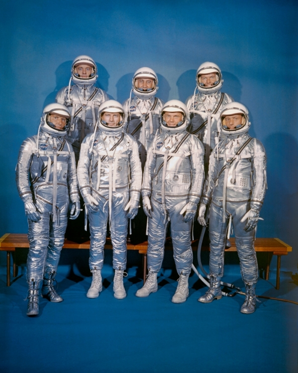 Mercury 7 Astronauts Introduced to the World 55 Years Ago