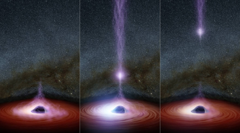 It Came From a Black Hole... And No, This is Not an April Fool's Joke