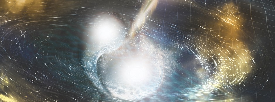 When World Collide – Neutron Star Collisions Spray Heavy Elements Throughout Small Galaxies
