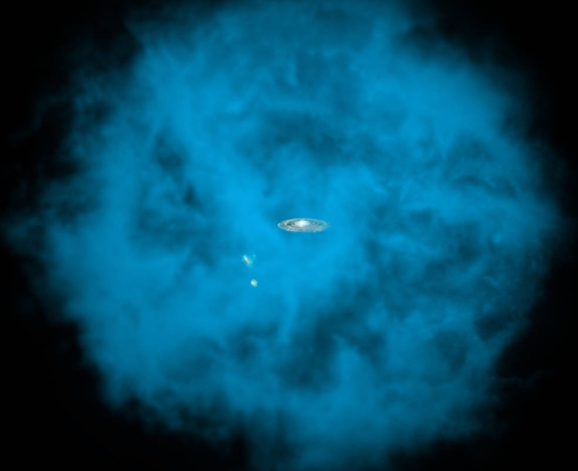 Hot Gas in the Milky Way Halo Appears to be Rotating Almost as Fast as the Disk