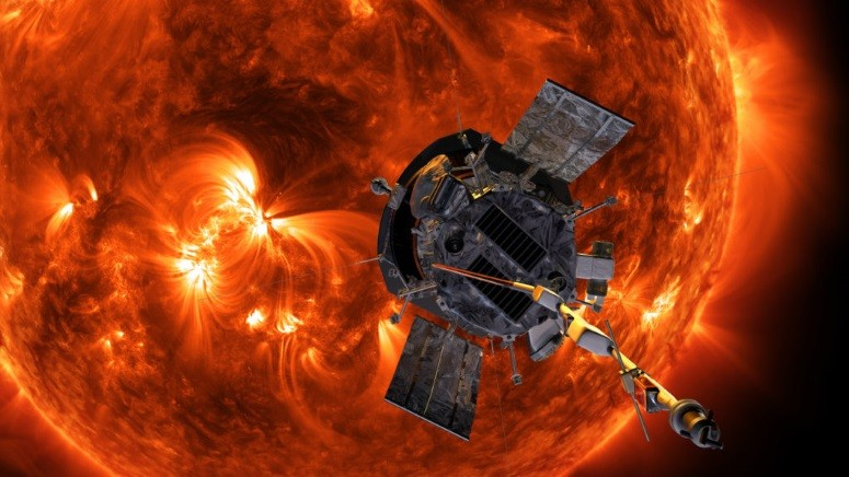 Traveling to the Sun -- Why the Parker Solar Probe Won't Melt