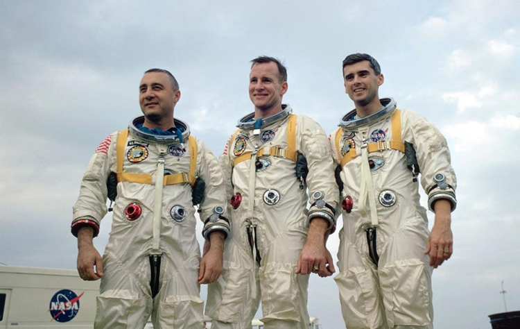 Roger Chaffee, Ed White, Gus Grissom -- 50 Years Ago Today