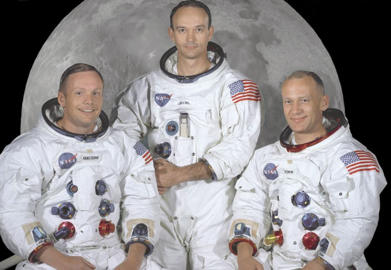 Neil Armstrong, Buzz Aldrin, Michael Collins -- 50 Years Ago Today -- The Ultimate Quest Begins