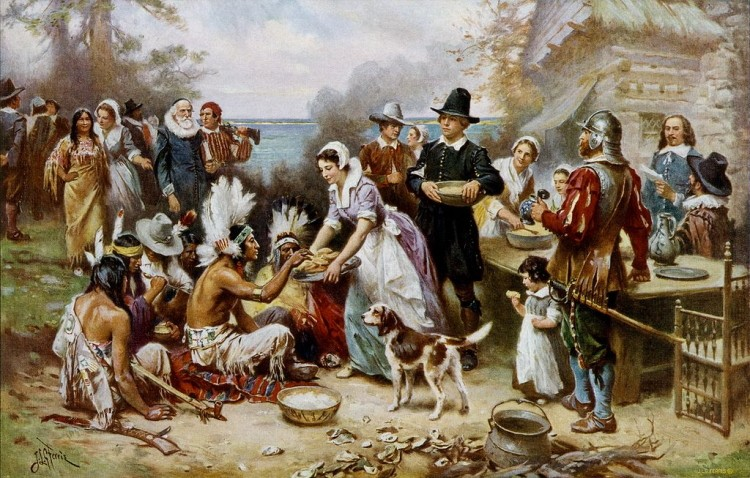 Happy Thanksgiving -- Pilgrim Colonists Arrived 400 Years Ago This Month (1620-2020)