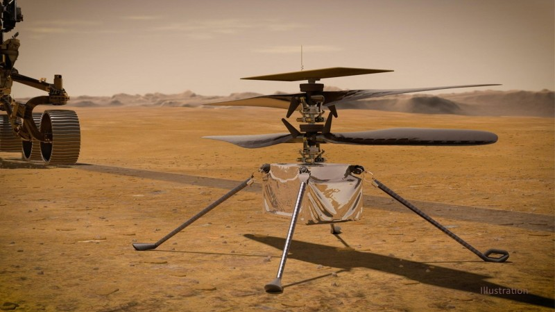 NASA's Ingenuity Helicopter is on Its Way to Mars With the Perseverance Rover