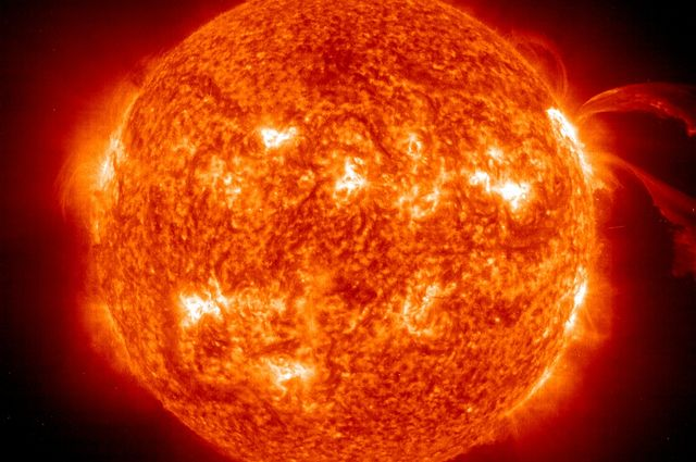 Sun's Core is Spinning Four Times Faster Than its Surface