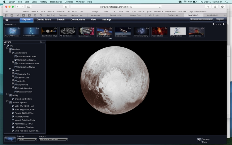 WorldWide Telescope Application Now Universally Accessible Via Web Browser