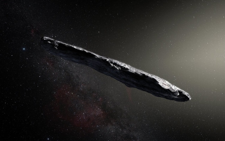 It Came From Outer Space -- Astronomers Find First Interstellar Asteroid