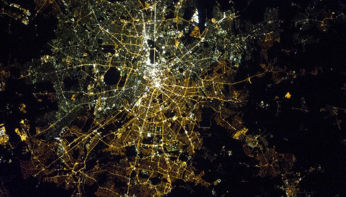 Night-Sky Light Pollution -- Satellite Imagery Confirms What We Already Know