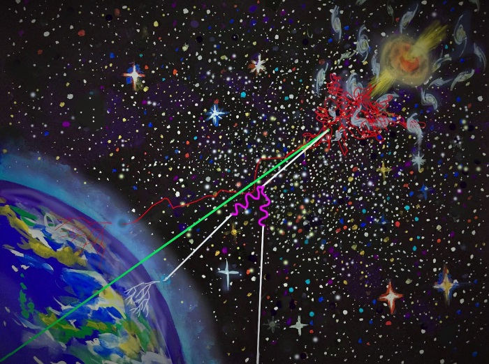 Extreme Energy Space Particles May Have a Unified Origin