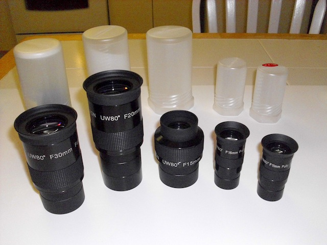 Olivon Eyepieces Review