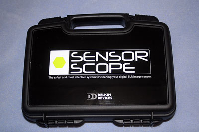 Cleaning with the Delkin SensorScope System