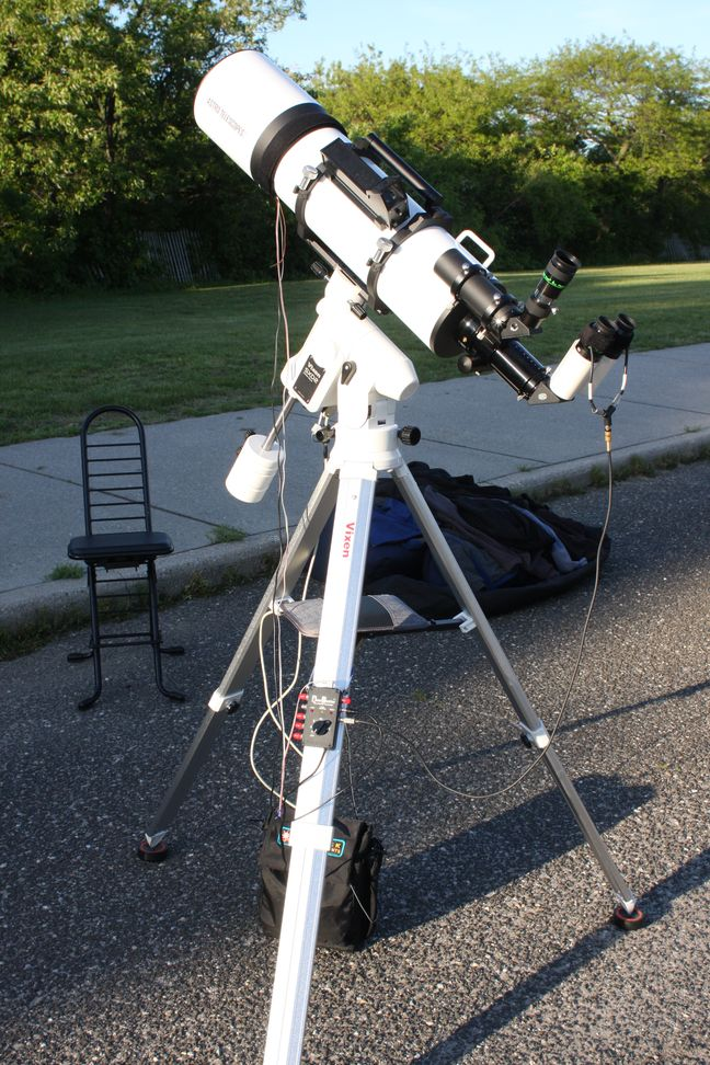 Review of the Vixen SXD2 Equatorial Mount with Starbook Ten