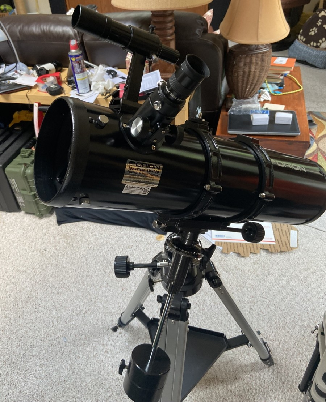 Orion SpaceProbe 130ST EQ 130mm Telescope - Black for sale
