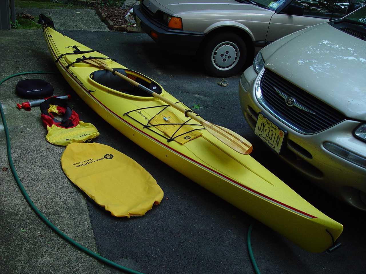 Perception/Aquaterra Kayak....Good kayak for me ...