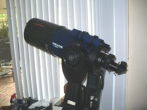 Meade 8 inch  LX200 GPS with many nice goodies
